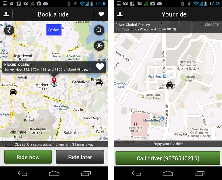 India's Olacabs to expand online taxi and car booking after $20 million series B funding