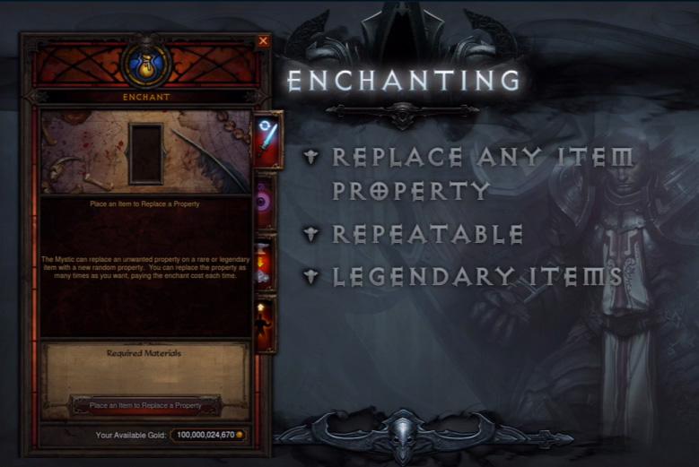Diablo 3 reaper of souls gambling legendaries