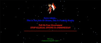indonesia anonymous hack Australian sites thumb