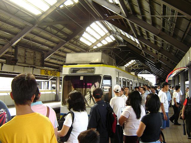 LRT MRT train Philippines