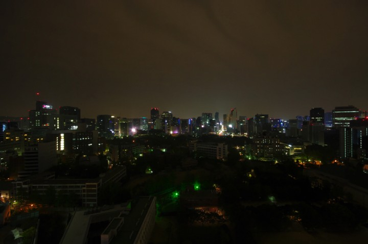 Seoul by night, South Korea