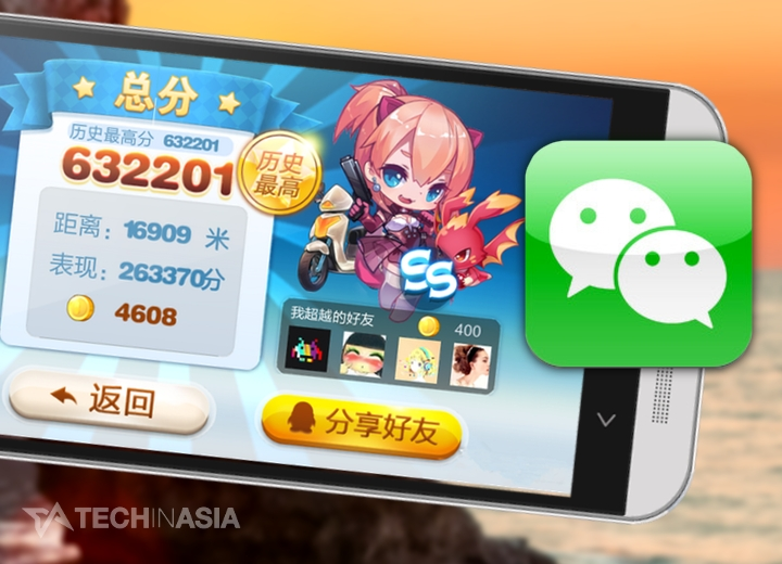 Boosted by WeChat, China's mobile gaming market worth $590 million in Q3 2013