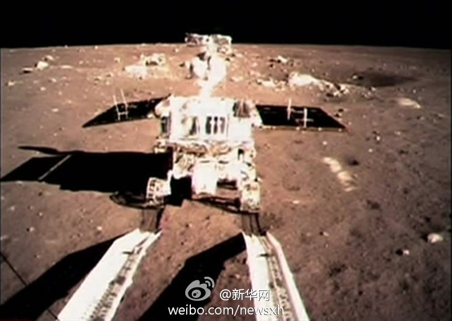 China lunar rover starts exploring
