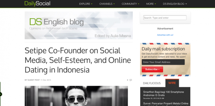 DailySocial site