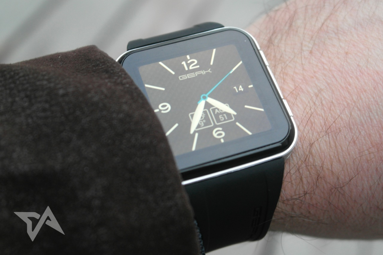GEAK Watch review photos