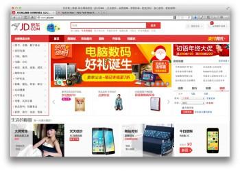 Jingdong 2013 sales revenue