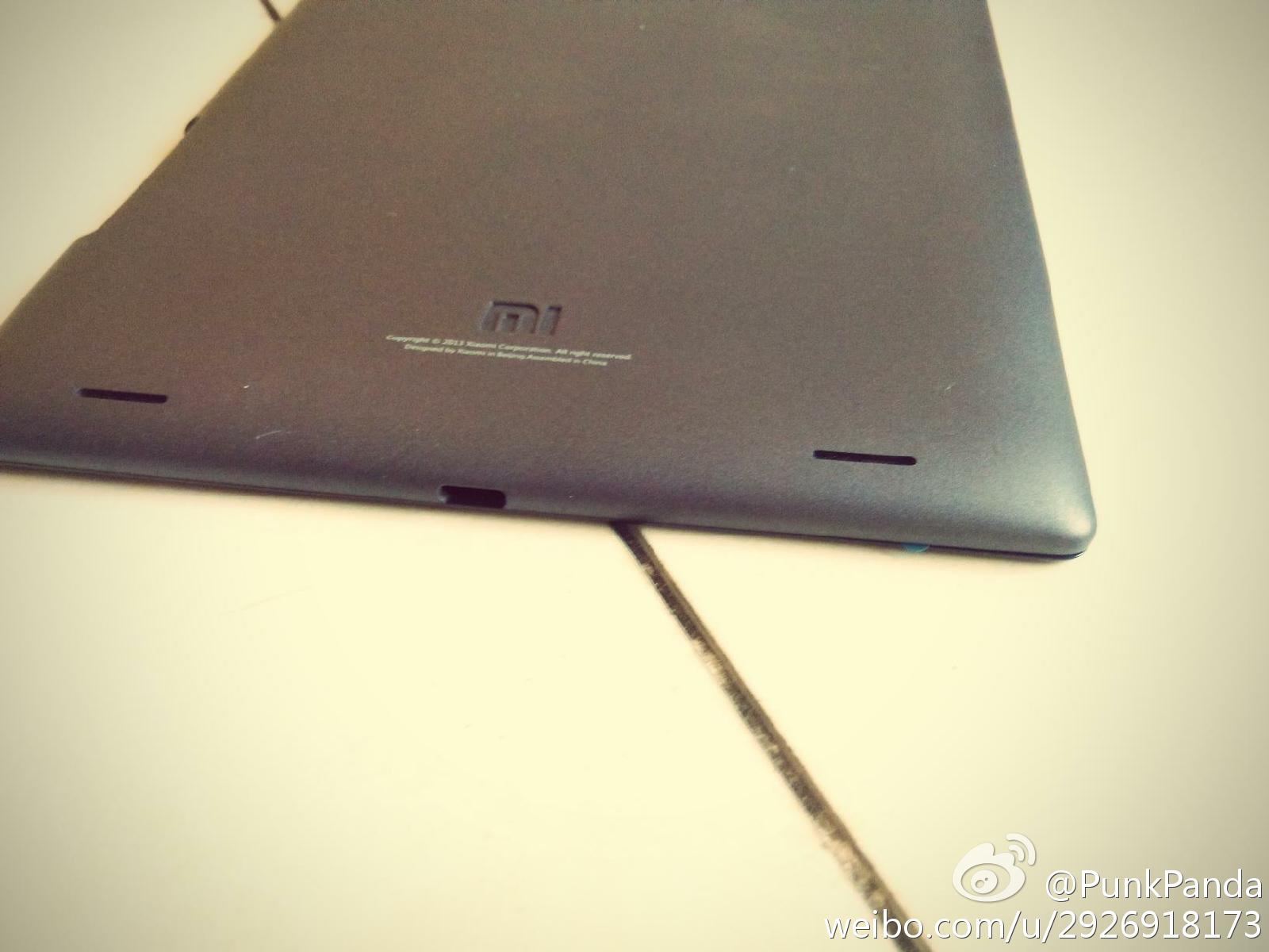 Leaked photo of Xiaomi tablet
