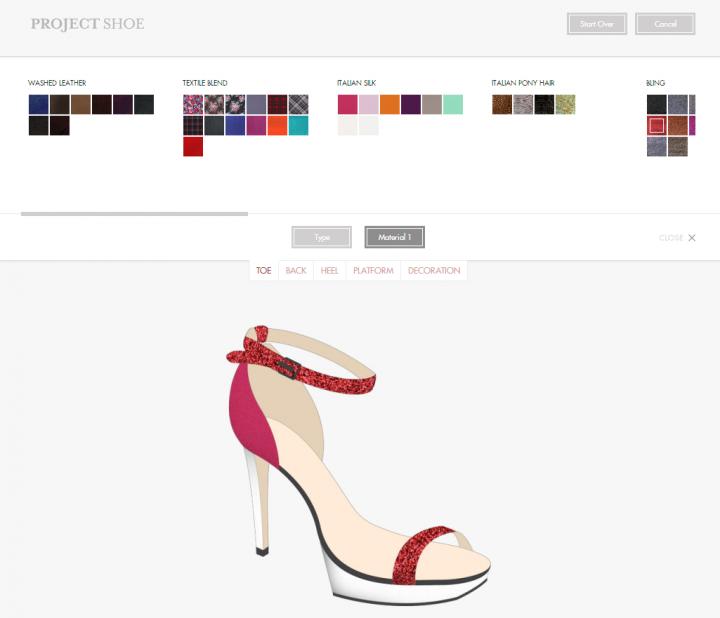 Project shoe