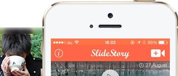 Slidestory app