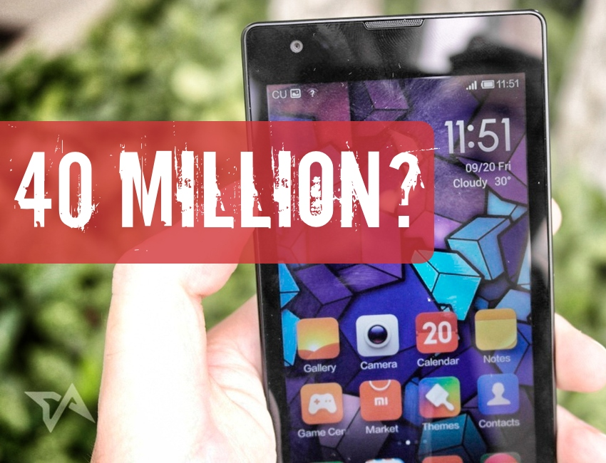 Xiaomi aims at 40 million phones sales 2014