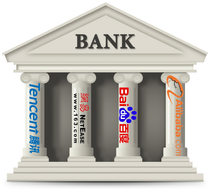 china web giant bank