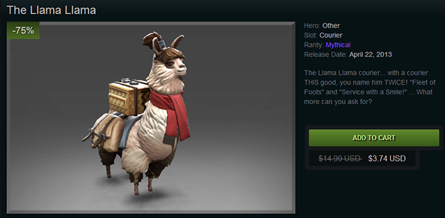 Dota 2's Frostivus Sale slashes 75% off the best in-game items