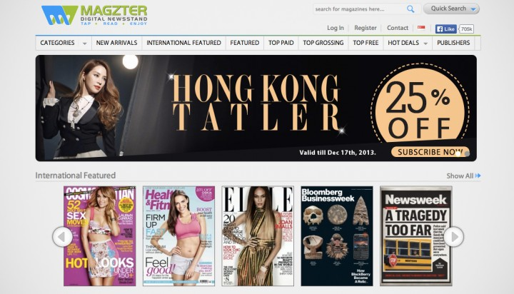 Singapore Press Holdings leads $10 million round in digital newsstand Magzter