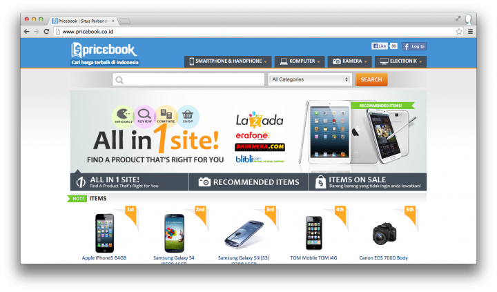 pricebook site