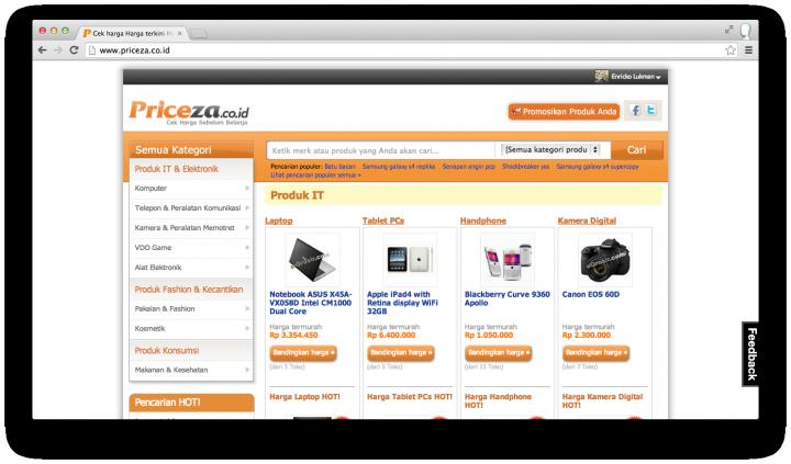 priceza site