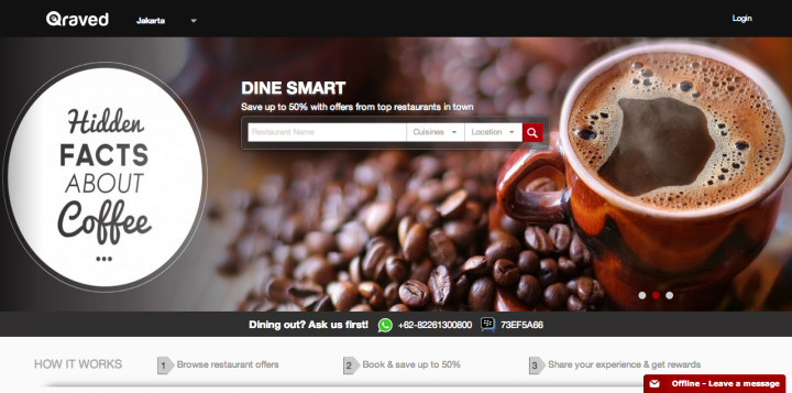 Qraved Launches Indonesia S First Restaurant Reservation App