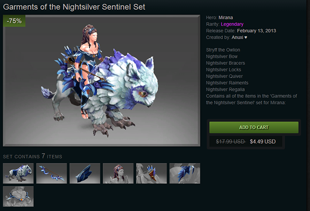 dota 2�s frostivus sale slashes 75 off the best ingame items