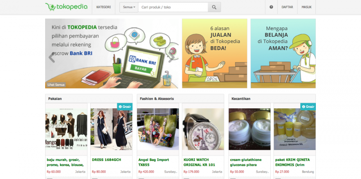 tokopedia site