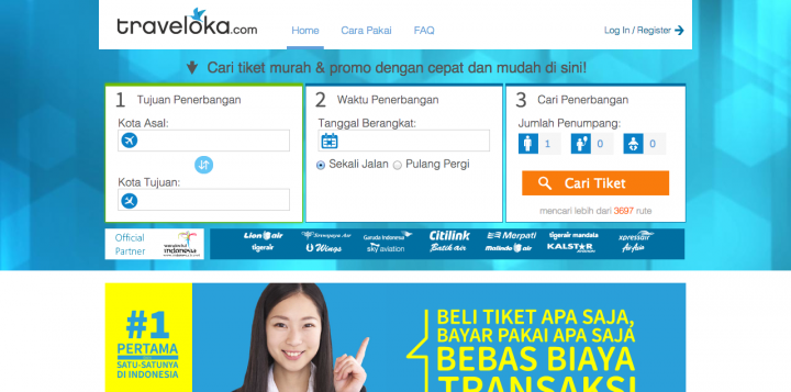 traveloka site
