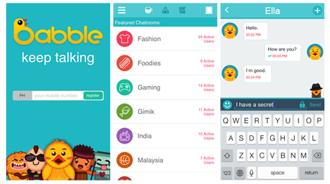 Babble Screenshot