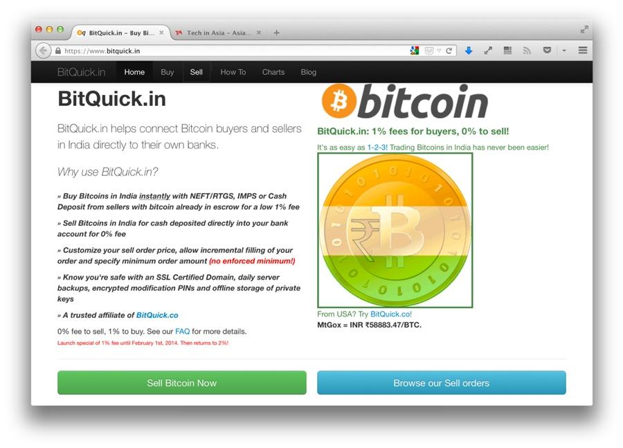 Bitquick exchange launches in India