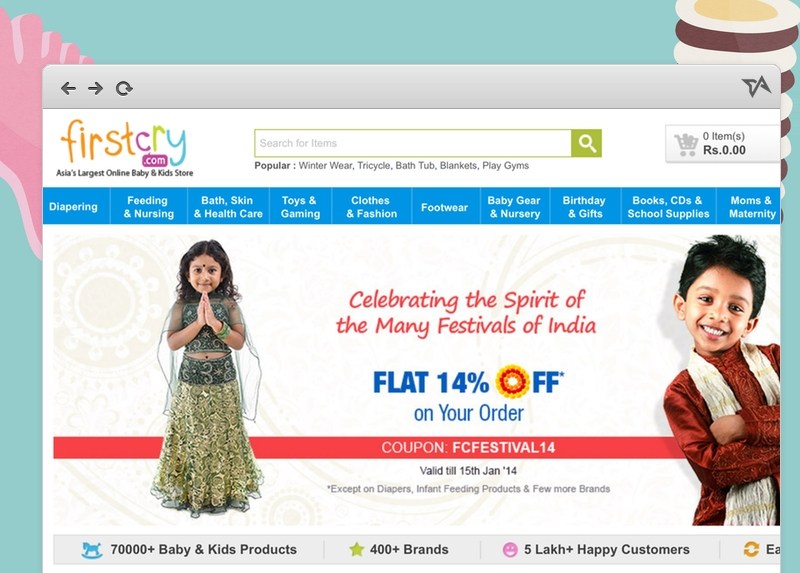 Indian kids e-store FirstCry gets $15 million in funding