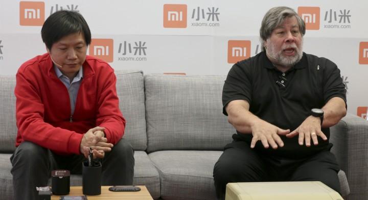 Lei jun and woz