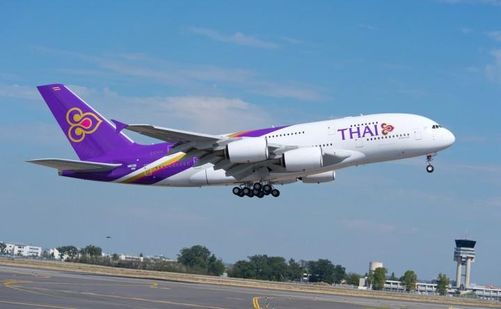 Thai airways in flight wifi