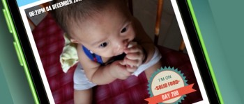 InstaB, an Instagram for baby photos app
