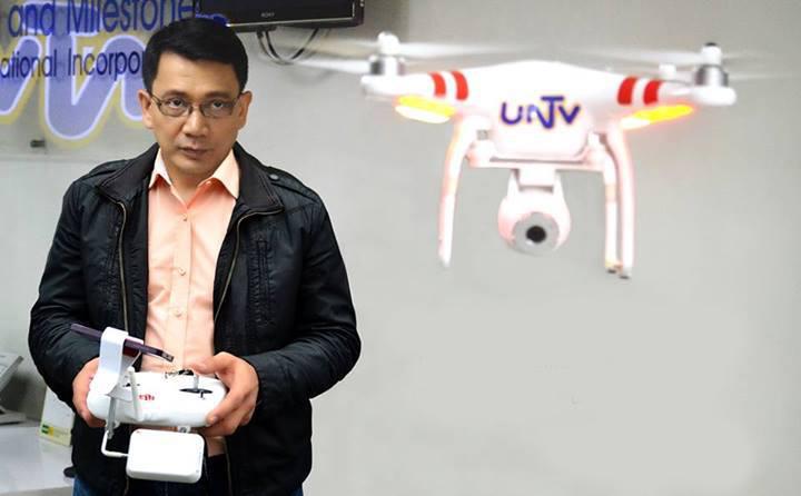 UNTV using drones