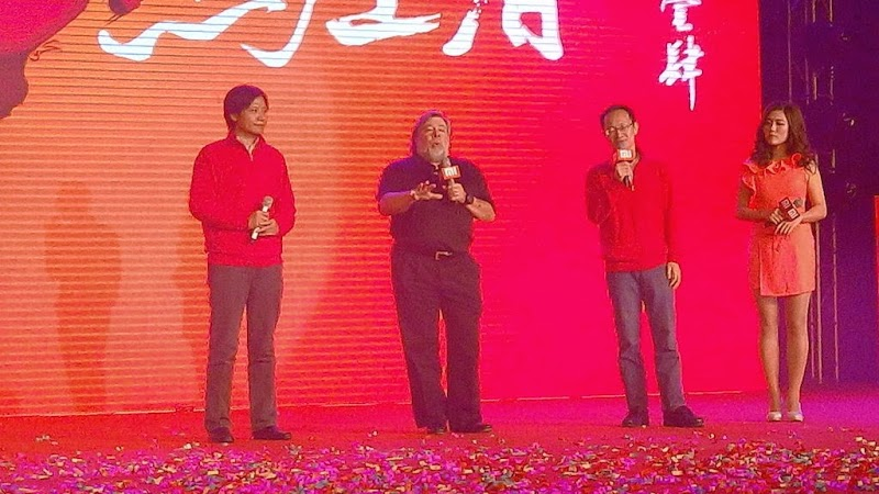 Xiaomi gets another new convert as Steve Wozniak drops into Beijing HQ