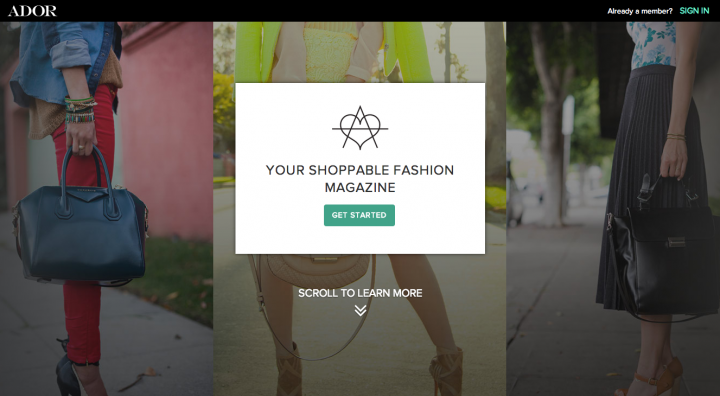 Your shoppable fashion magazine   Ador.com