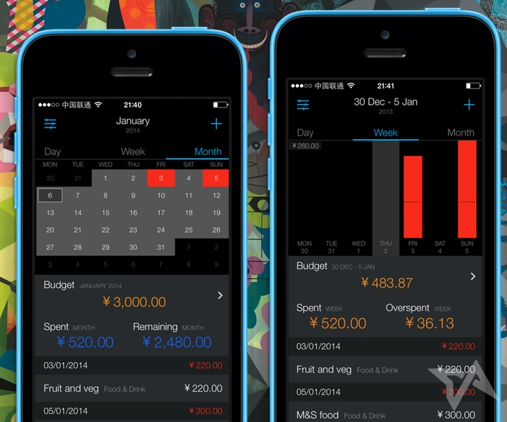 budgeting app Saved