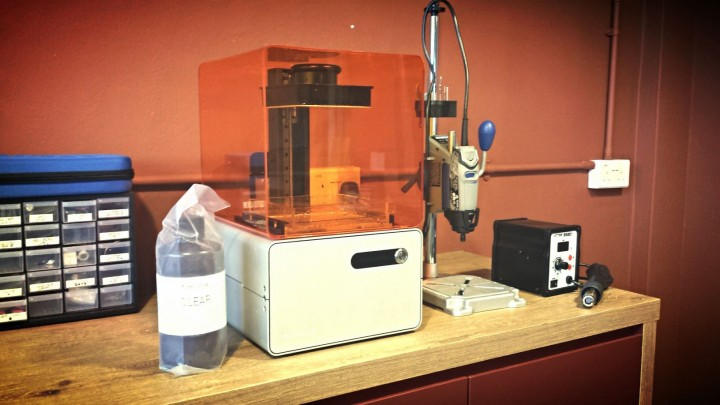 The fabrication lab at Co.Lab.