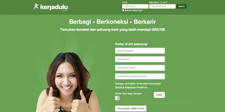 kerjadulu home page