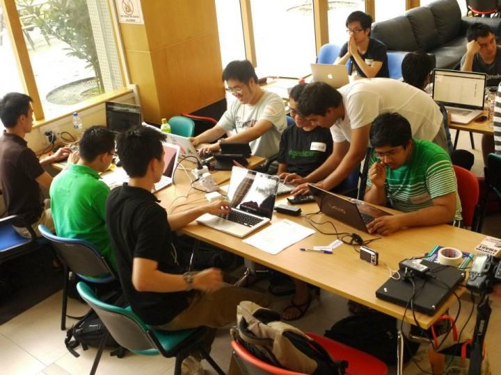 Hack&Roll hackathon NUS Hackers