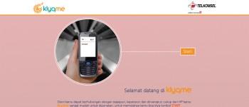 telkomsel klyqme sms social network thumb