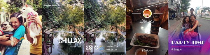 StoryCam photo app for WeChat