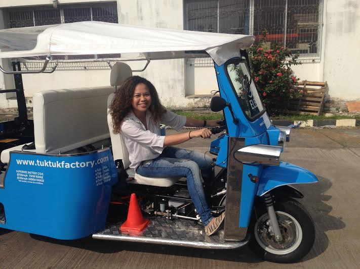 All the fun, none of the pollution: check out Thailand's electric tuk-tuk