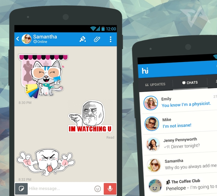 Hike messaging app in India