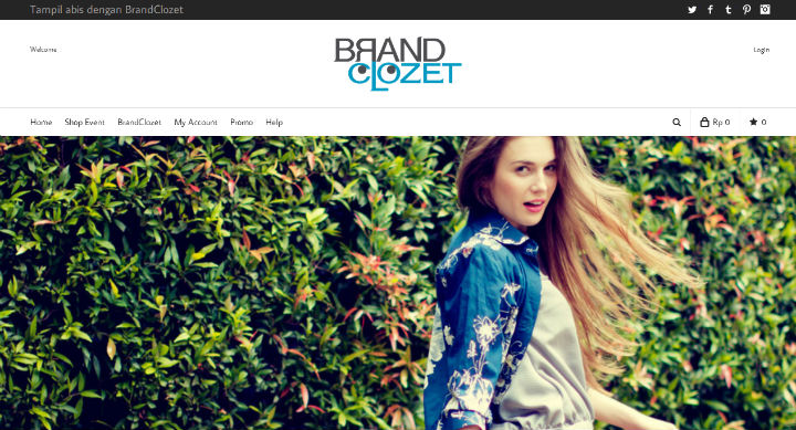 BrandClozet website