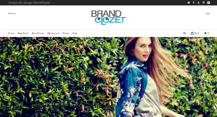 BrandClozet website