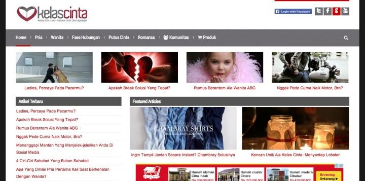Kelas Cinta website