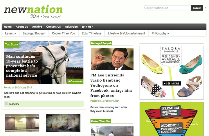 New-Nation-website