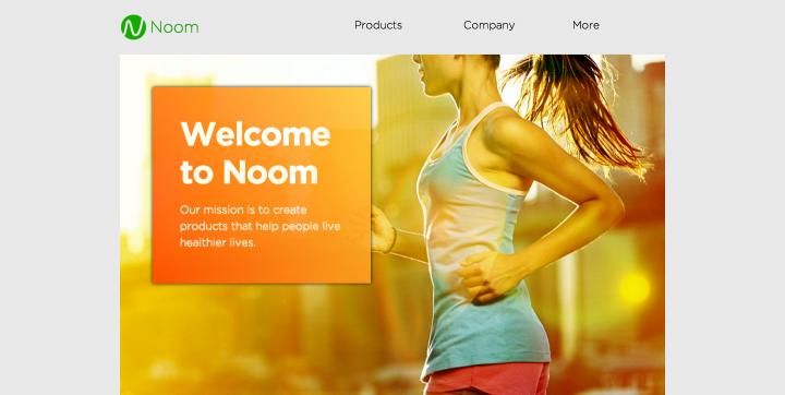 Noom Home Screenshot