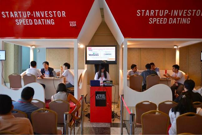 Speed dating pro startupy