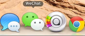 WeChat app for Mac launches