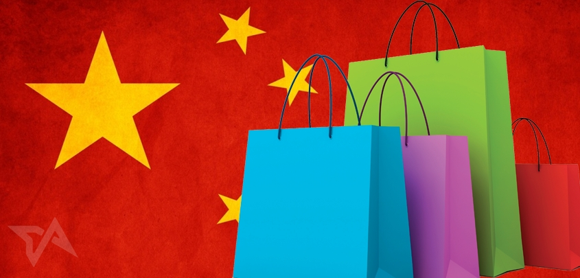 ecommerce spending in China, Q1 2014