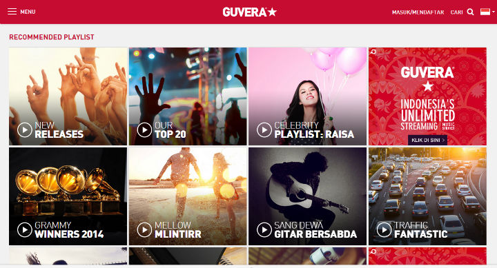 guvera indonesia website