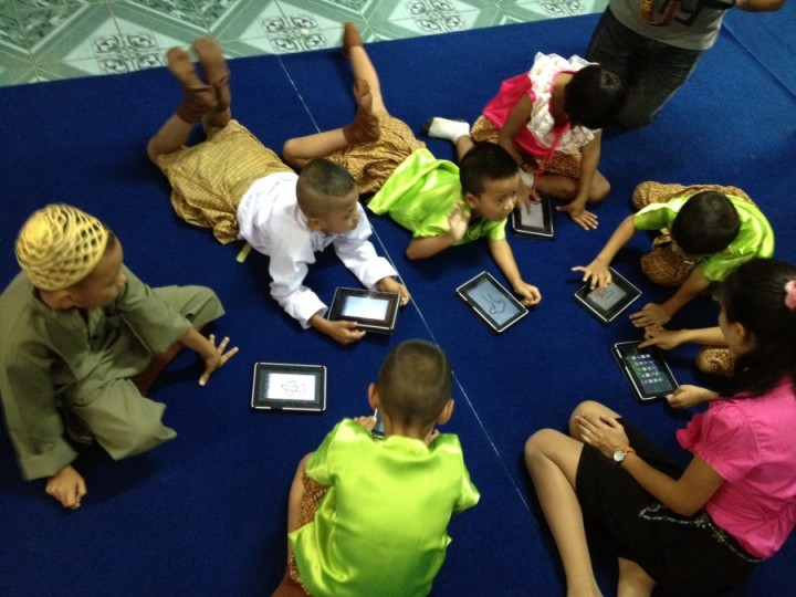 one tablet per child
